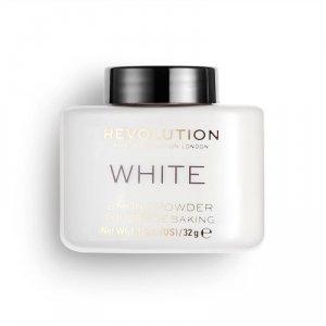 Makeup Revolution Puder sypki,  Loose Baking Powder White, 32 g