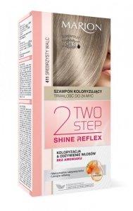 Marion Two Step Shine Reflex Szampon koloryzujący nr 411 Srebrzysty Walc  1op.