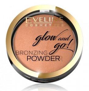 Eveline Glow & Go Bronzer wypiekany nr 02 Jamaica Bay  1szt