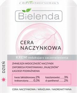 Bielenda Cera Naczynkowa Krem redukujący zaczerwienienia na dzień  50ml