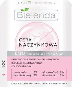 Bielenda Cera Naczynkowa Krem wzmacniająco-regenerujący na noc  50ml