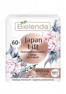 Bielenda Japan Lift 60+ Odżywczy Krem przeciwzmarszczkowy SPF6 na dzień  50ml
