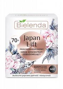 Bielenda Japan Lift 70+ Odbudowujący Krem-koncentrat przeciwzmarszczkowy na noc  50ml