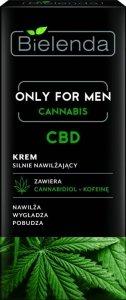 Bielenda Only for Men Cannabis CBD Krem silnie nawilżający  50ml