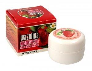 Kosmed Wazelina kosmetyczna aromatyzowana - Truskawka 15ml