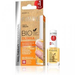 Eveline Nail Therapy Bio Oliwka multiodżywcza do paznokci i skórek  12ml