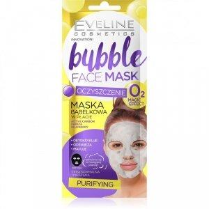 Eveline Bubble Face Maska bąbelkowa w płacie - Oczyszczenie 1szt