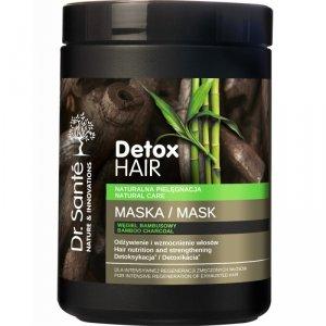 Dr.Sante Detox Hair Maska regenerująca do włosów z węglem bambusowym 1000ml
