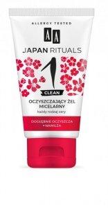 AA Japan Rituals 1 Clean Oczyszczający Żel micelarny - każdy rodzaj cery 150ml