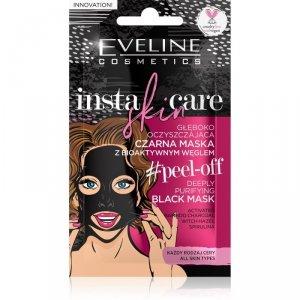 Eveline Insta Skin Care Czarna Maseczka głeboko oczyszczająca peel-off 10ml