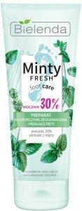 Bielenda Minty Fresh Foot Care Preparat na uporczywe zrogowacenia i pękające pięty 75ml