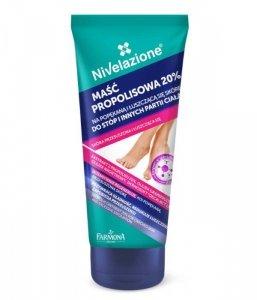 Farmona Nivelazione Stopy Maść propolisowa 20% na popękaną i łuszczącą się skórę  75ml