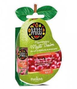 Farmona Tutti Frutti Balsam do ust nawilżający Gruszka & Żurawina 12ml