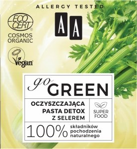 AA Go Green Oczyszczająca Pasta detox z selerem  50ml