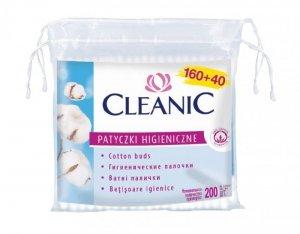Cleanic Patyczki higieniczne Folia 1op.-160 +40 szt
