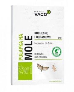 VACO ECO Pułapka na mole kuchenne i ubraniowe 2w1  1op.-2szt