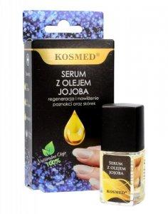 Kosmed Serum z olejem jojoba do paznokci i skórek - regeneracja i nawilżenie  9ml