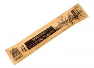 Bio4You Szczoteczka do zębów bambusowa miękka - białe włosie  1szt