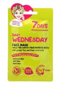 VILENTA 7 Days Maska na twarz nawilżająca Easy Wednesday  28g
