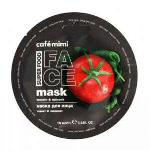 Cafe Mimi Super Food Maseczka do twarzy Pomidor & Szpinak  10ml