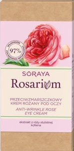 Soraya Rosarium Różany Krem przeciwzmarszczkowy pod oczy  15ml