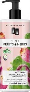 AA Super Fruits & Herbs Odżywka do włosów wzmacniająca Opuncja & Amarantus  500ml