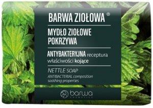 BARWA Ziołowa Mydło ziołowe w kostce Pokrzywa 100g