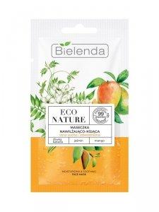 Bielenda Eco Nature Maseczka do twarzy nawilżająco-kojąca - Śliwka Kakadu & Jaśmin & Mango 8g