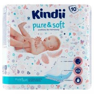Kindii Pure & Soft Podkłady jednorazowe dla niemowląt 1op.-10szt