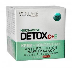 Vollare Detox C + E Krem-koncentrat nawilżający na dzień SPF20  50ml