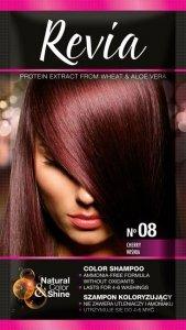 Revia Szampon koloryzujący do włosów nr 08 Wiśnia  1op.
