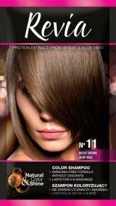 Revia Szampon koloryzujący do włosów nr 11 Jasny Brąz  1op.