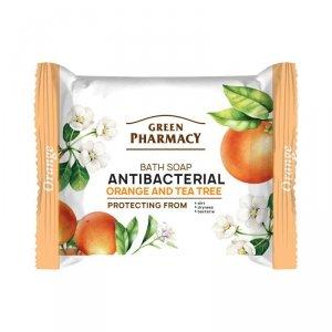 Green Pharmacy Antybakteryjne Mydło w kostce Pomarańcza i Drzewo Herbaciane  100g