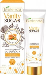Bielenda Vanity Sugar Cukrowy Krem do depilacji - bikini,pachy,nogi 100ml