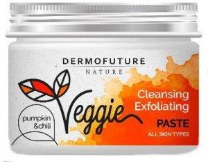 Dermofuture Nature Veggie Pasta oczyszczająca do twarzy Dynia&Chili - każdy typ cery 150ml