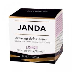 JANDA 40+ Krem na dzień dobry redukujący zmarszczki 50ml