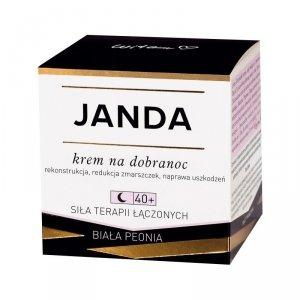 JANDA 40+ Krem na dobranoc redukujący zmarszczki 50ml
