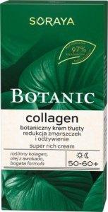 Soraya Botanic Collagen 50-60+ Botaniczny Krem tłusty na dzień i noc 50ml