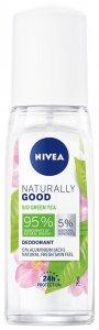 Nivea Dezodorant damski Naturally Good Bio Green Tea - atomizer 75ml