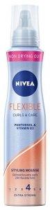 Nivea Hair Care Styling Pianka do włosów Flexible Curls & Care  150ml