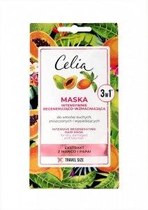 Celia Maska do włosów intensywnie regenerująco - wzmacniająca 3w1 10ml - saszetka