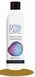 BARWA Extra Care Szampon do włosów regenerujący - z keratyną i kompleksem 7 witamin  300ml