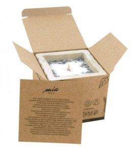 MIA BOX Świeca sojowa betonowa antykomarowa  150g