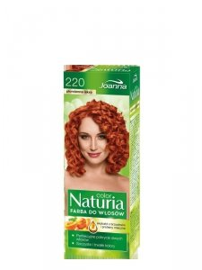 Joanna Naturia Color Farba do włosów nr 220-płomienna iskra  150g