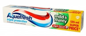 Aquafresh Pasta Triple Protection Mild & Minty 125ml