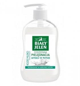 Biały Jeleń Codzienna Pielęgnacja Mydło hipoalergiczne w płynie Kozie Mleko 300ml