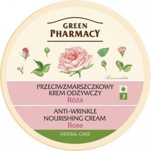 Green Pharmacy Herbal Cosmetics Krem do twarzy przeciwzmarszczkowy z różą
