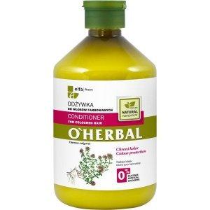Elfa Pharm O'Herbal Odżywka do włosów farbowanych z macierzanką i tymiankiem 500ml