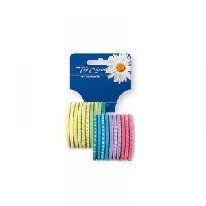 Top Choice Gumki do włosów mix  1op-20szt  22159