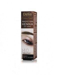 Delia Cosmetics Henna do brwi 1.1 Grafitowa  1szt
